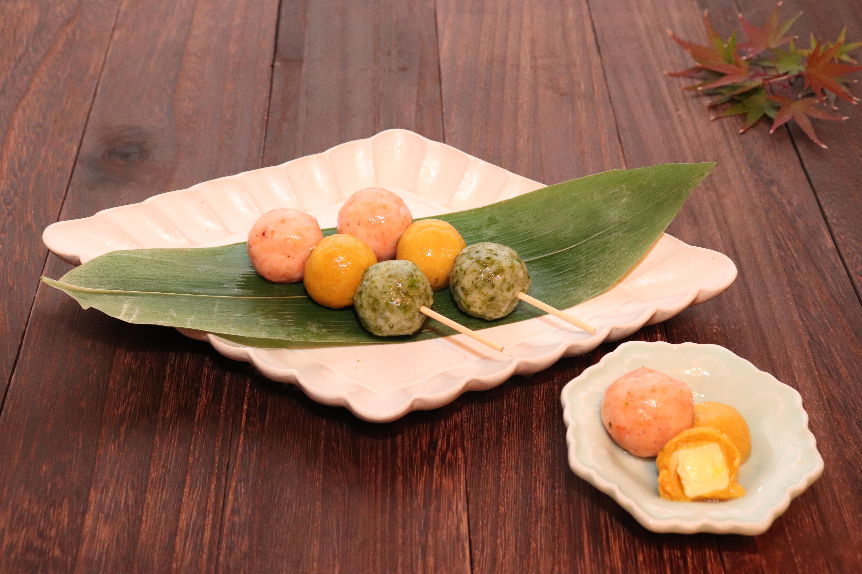 「Ca強化のプロテインだんご」第1回アスリートフードマイスターレシピコンテスト 優秀賞(テーマ:補食)