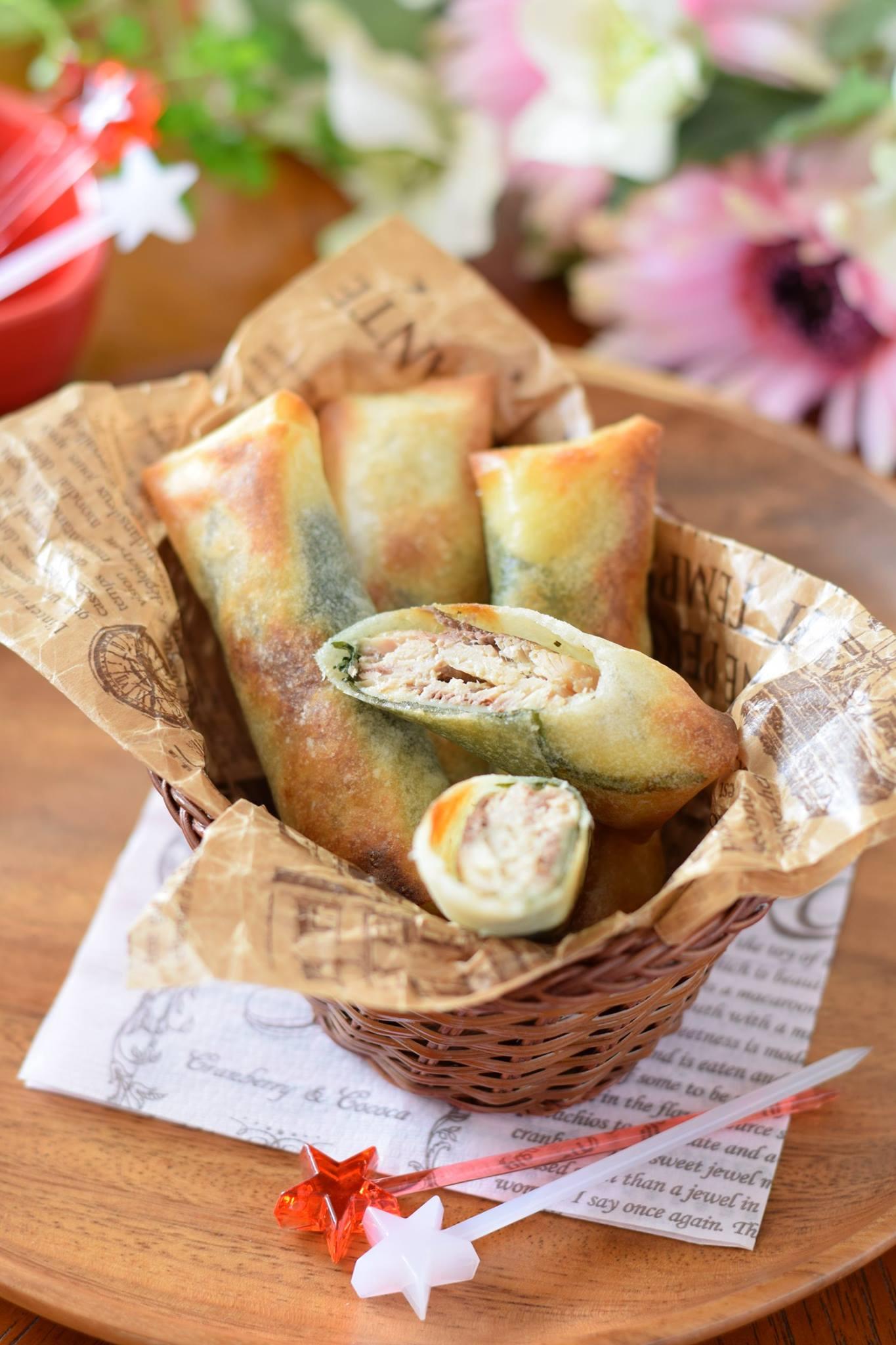 「オイルサーディンの大葉チーズ春巻き」 第1回 アスリートフードレシピコンテスト「テーマ補食」 優秀賞作品