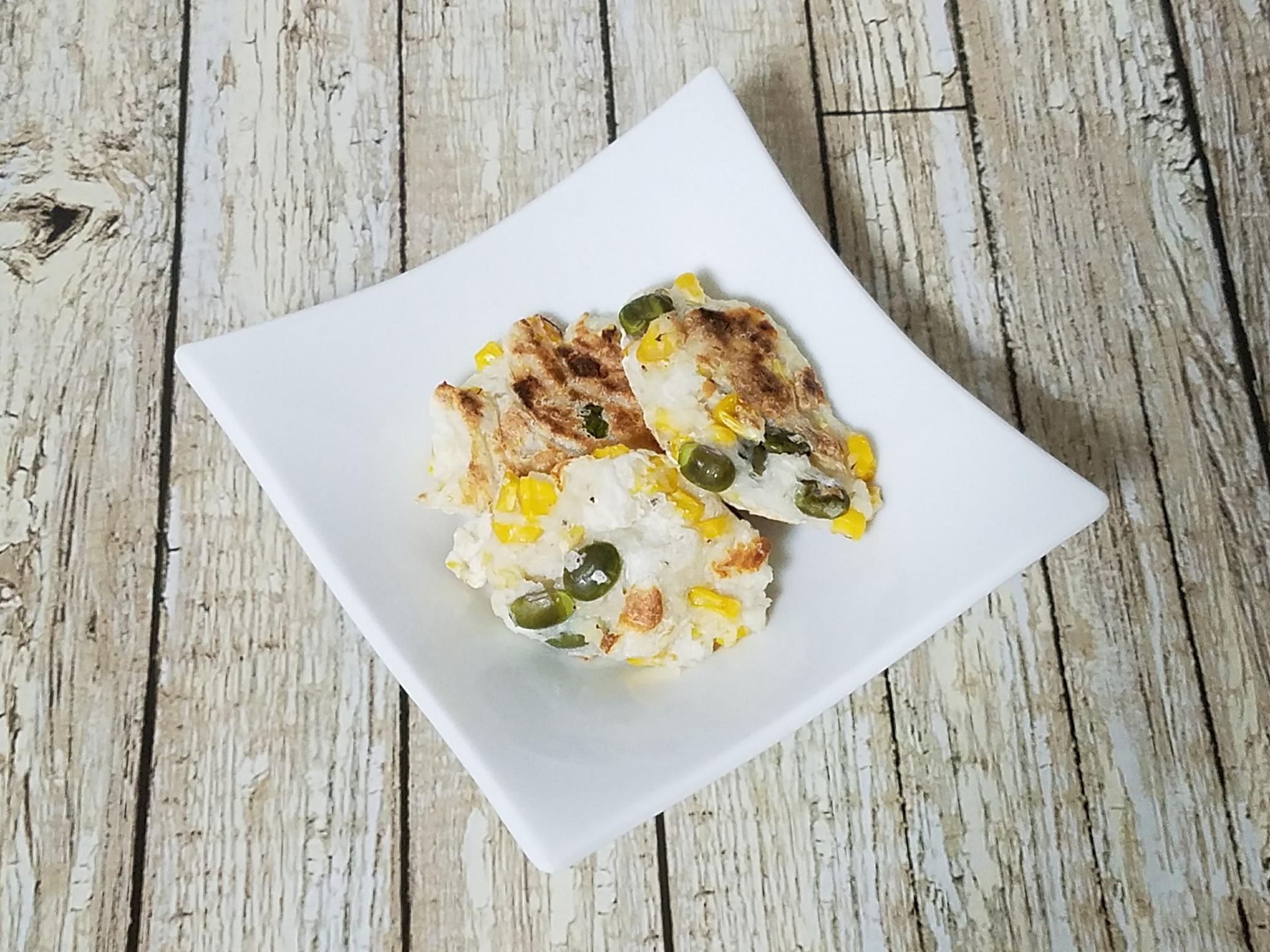 「大和芋のお好み焼き」第1回 アスリートフードマイスターレシピコンテスト 優秀賞(テーマ:補食)