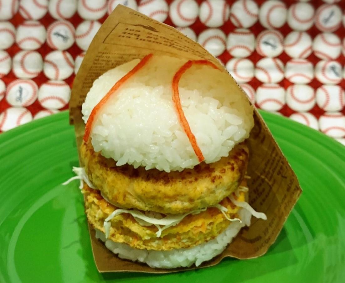 「カレー風味ハンバーグのライスボール」第1回 アスリートフードレシピコンテスト「テーマ補食」 応募作品
