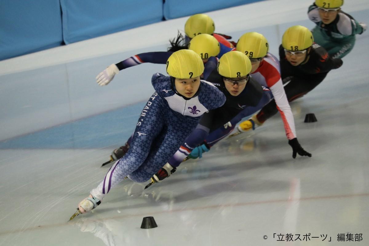 【現役学生TOPアスリート。食戦力で自己管理を徹底する】 立教大学ショートトラック スピードスケート競技~松山雛子選手