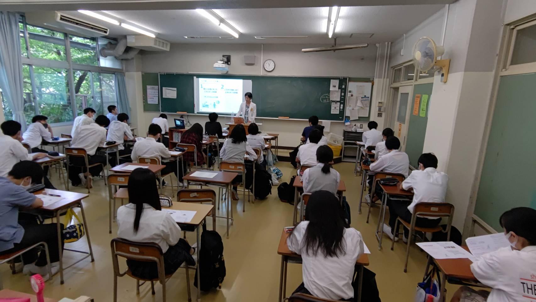 【アスリートフードマイスタ-活動報告】東京都教育委員会モデル事業「エンジョイスポーツプロジェクト」 ~高校生に朝食を食べてもらいたい!「GOOD HABIT」の勧め~